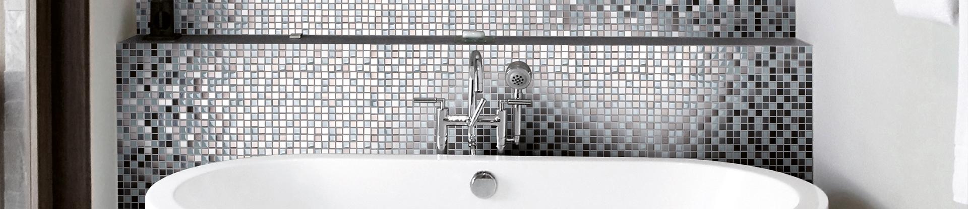 Mosaikfliesen Für Ihr Zuahsue Fliesenleger Plaster Sankt Katharinen - Mosaik fliesen metallic